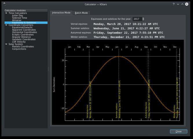 Wi-Fi Astrophotograph System Controller Planner Screenshot