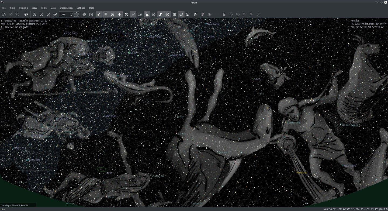 Wi-Fi Astrophotograph System Controller Overlay Screenshot